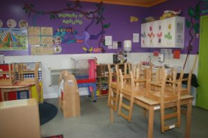 Kid's Educational Center - classroom with no kids