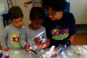 Kids Education Centers - Making Tie Dyes