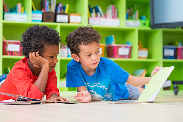 Kids Educational Centers - Boys Reading