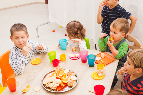 Kids Education Centers - Lunch Time